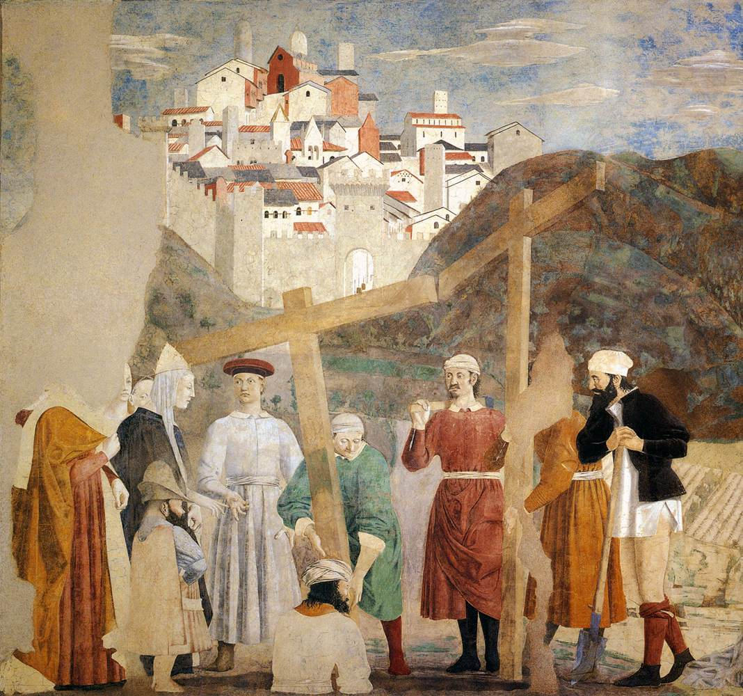 Finding the True Cross - Piero 1452