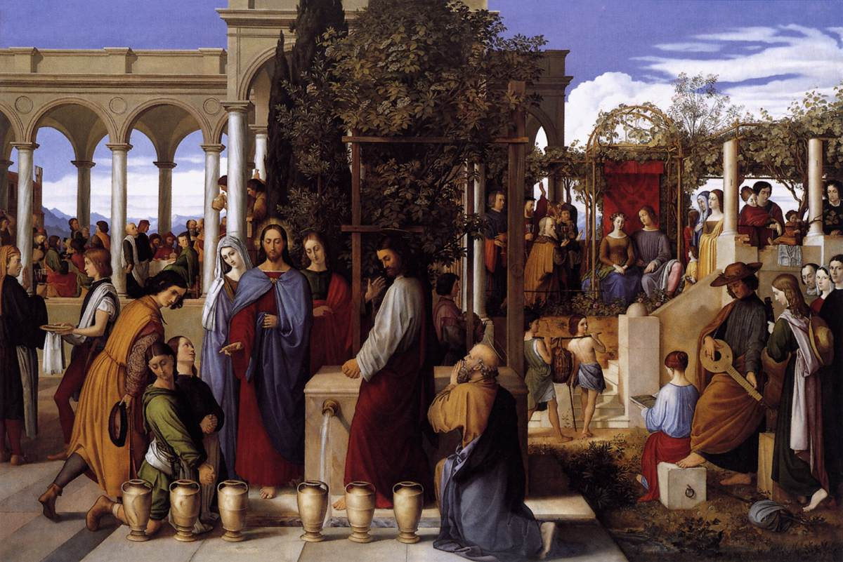 The Wedding Feast at Cana - Schnorr 1819