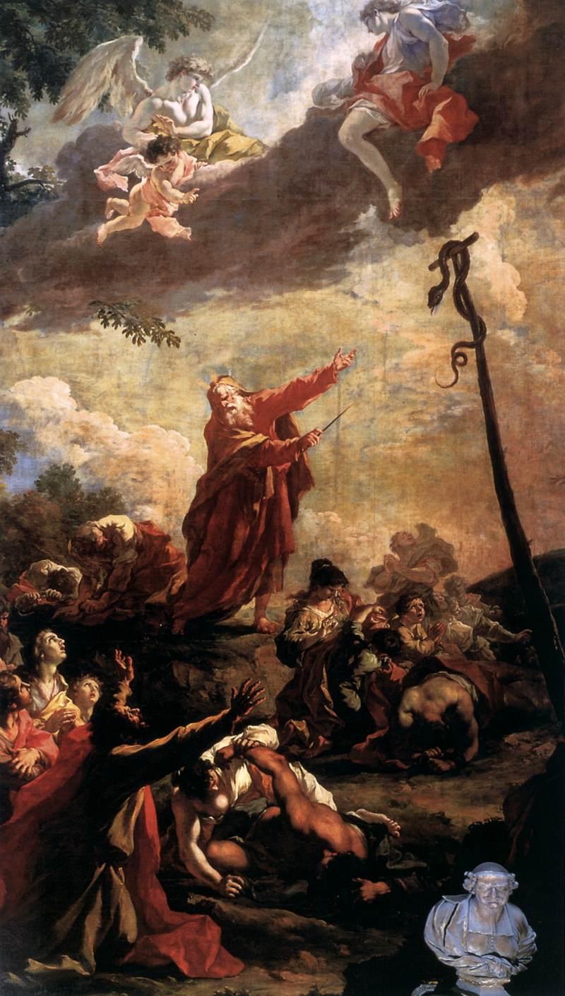 Brazen Serpent - Pellegrini 1707