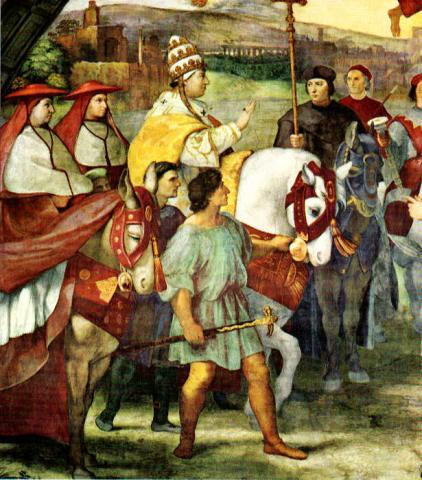Pope Leo meets Attila the Hun