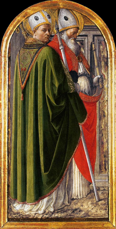 Sts. Ambrose & Augustine - Fra Lippa 1437
