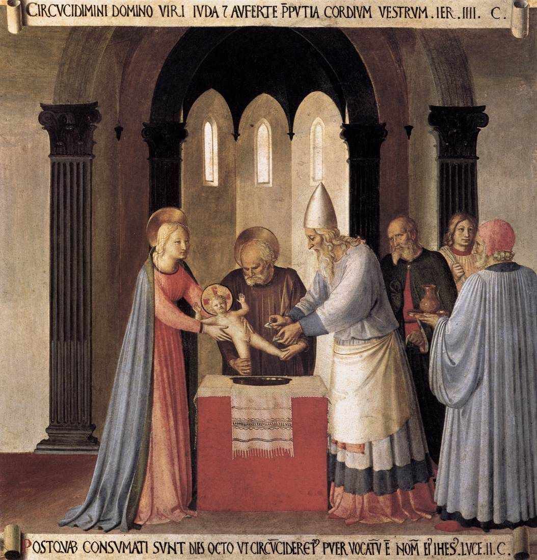 The Circumcision of Christ - Fra Angelico 1451