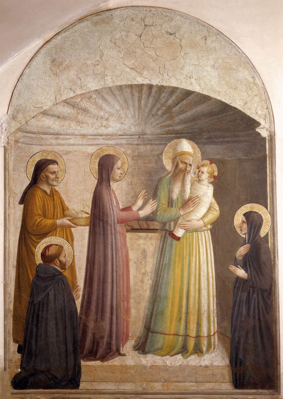 The Presentation - Fra Angelico