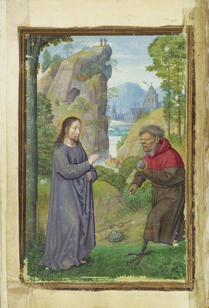 Temptation of Christ - Bening 1525