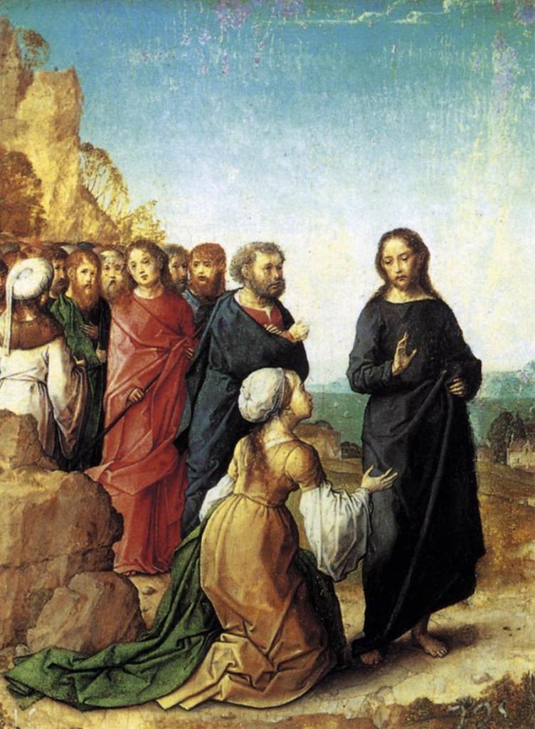 Christ & the Canaanite Woman - De Juan 1500