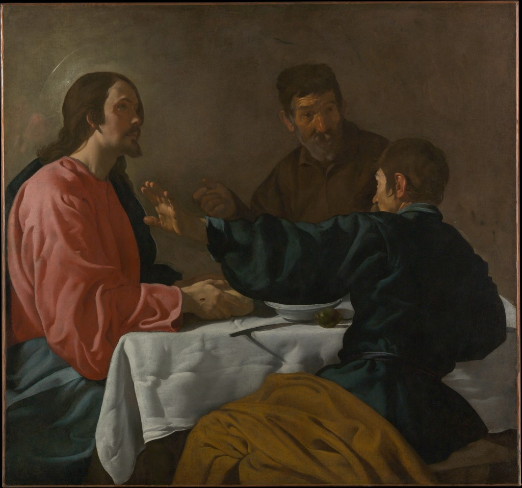 The Supper at Emmaus, 1622–23 - Velázquez