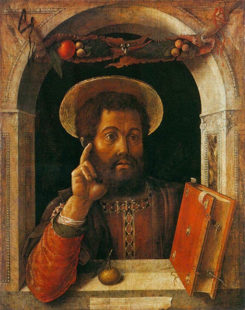 St. Mark, Mantagna 1448