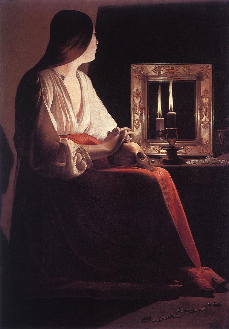 Penitent Magdalen - de La Tour 1638