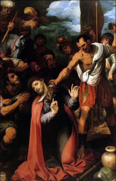 Beheading of St. James - Ribalta 1603