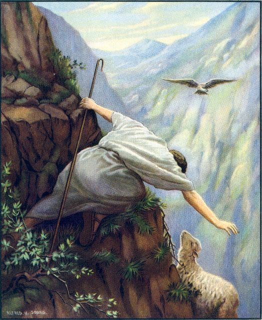 The Good Shepherd - Alfred Soord, London, 1900
