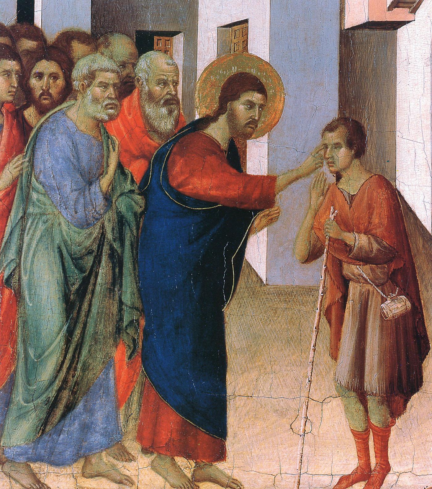 Jesus Heals the Man Born Blind - 1308